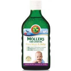Ulei din ficat de cod Mom & Baby x 250ml Moller's