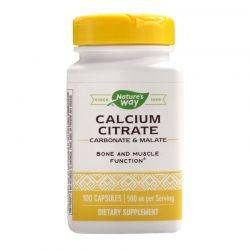 Calcium Citrate Complex x 100cps Natures Way