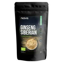 Ginseng Siberian Pulbere Organica/Bio x 125g Niavis