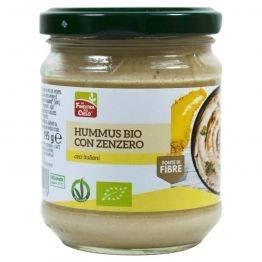 Hummus Bio cu ghimbir vegan x 195g La Finestra sul Cielo