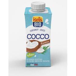 Crema bio din nuca de cocos pentru gatit fara gluten x 200ml Isola Bio
