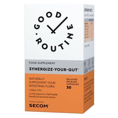 Synergize-Your-Gut x 30cps Good Routine