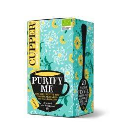 Ceai Infuzie Purify Me Eco 20x1,9g Cupper