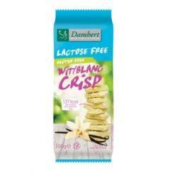 Ciocolata alba fara gluten, fara lactoza x 100g Damhert