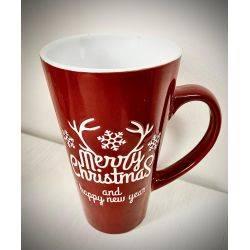 Cana Merry Christmas din ceramica x 15cm Roxan