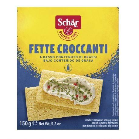 Felii de paine crocante fara gluten Fette Croccanti x 150g Dr. Schar