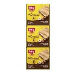 Noccioli Napolitane cu crema de alune fara gluten 3 x 21g Dr. Schar