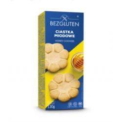 Biscuiti fara gluten cu miere x 130g Bezgluten