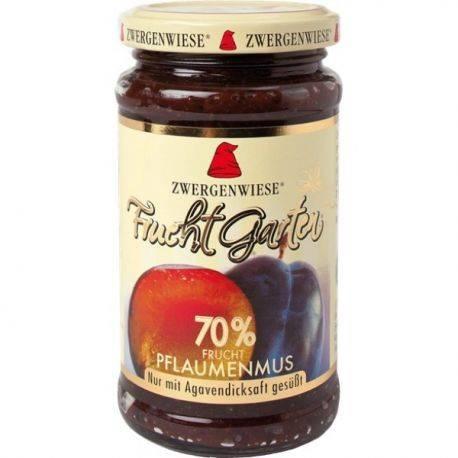 Gem de prune bio indulcit cu nectar de agave fara zahar fara gluten x 225g Zwergenwiese