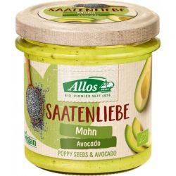 Crema tartinabila din seminte de mac si avocado fara gluten x 140g Allos
