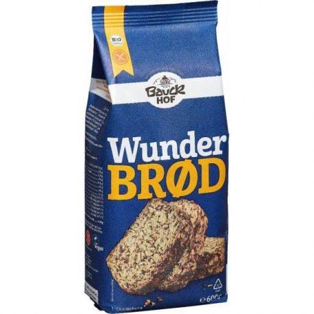 Mix pentru paine integrala cu seminte fara gluten x 500g BauckHof