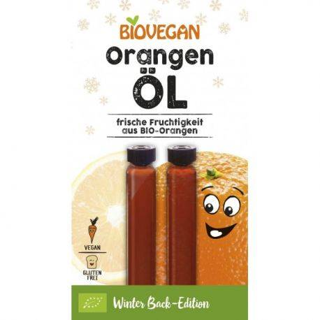Ulei de portocale fara gluten x 2x2ml BioVegan