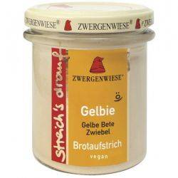 Crema tartinabila vegetala Gelbie cu sfecla galbena si ceapa x 180g Zwergenwiese