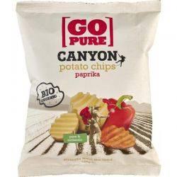 Chipsuri din cartofi cu ardei fara gluten x 125g Go Pure