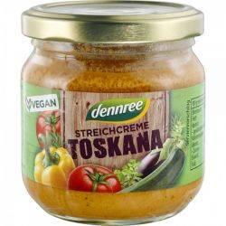Crema tartinabila cu legume Toskana x 180g Dennree