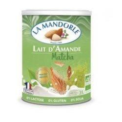 Bautura instant de migdale cu ceai matcha x 400g La Mandorle