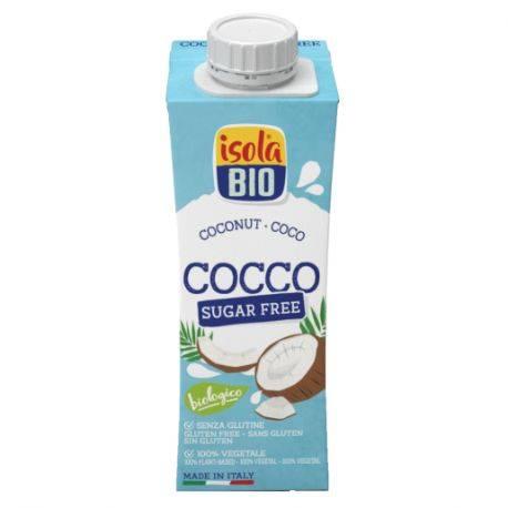 Bautura bio de cocos To Go fara gluten, fara zahar x 250ml Isola Bio