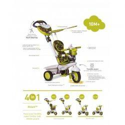 Tricicleta Smart Trike Dream Green 4in1