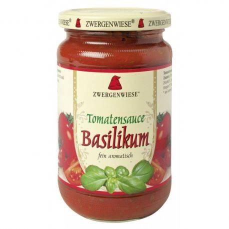 Sos bio de tomate cu busuioc fara gluten x 340ml Zwergenwiese