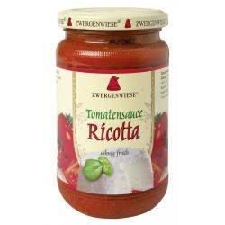 Sos bio de tomate Ricotta fara gluten x 340ml Zwergenwiese
