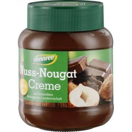 Crema nuss-nougat vegan x 400g Dennree