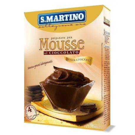 Preparat pentru Mousse fara gluten, fara coacere (4 portii) x 170g S.Martino