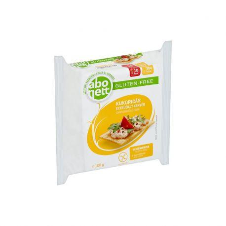 Tartine crocante bio cu porumb fara gluten x 100g Abonett