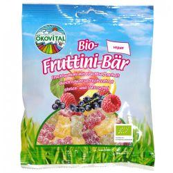 Jeleuri cu fructe ursuleti fara gluten si lactoza bio x100g Okovital