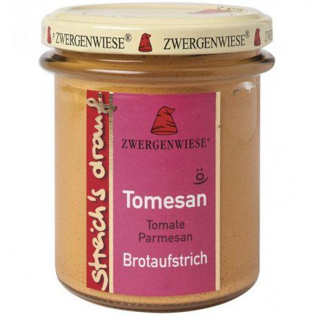 Crema tartinabila vegetala Tomesan cu tomate si parmezan fara gluten bio x160g Zwergenwiese