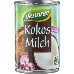 Lapte de cocos 60% bio x400ml Dennree