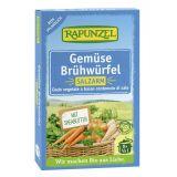 Cuburi de supa de legume cu putina sare bio x 8buc Rapunzel