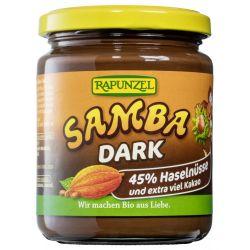 Crema de ciocolata Bio Samba dark x 250g Rapunzel