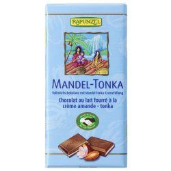Ciocolata cu crema de Migdale si Tonka x 10gg Rapunzel