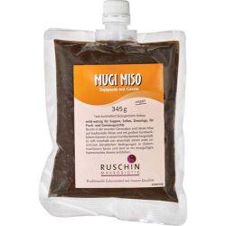Mugi Miso cu soia si orz bio x 345g Ruschin