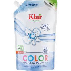 Detergent lichid pentru rufe colorate ecologic x 1,5L Klar