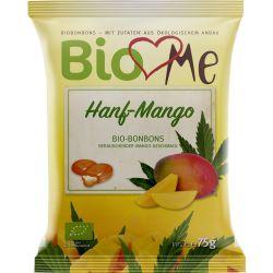 Bomboane cu canepa si mango bio x75g BIO Loves Me