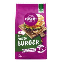 Mix pentru burger din linte x 160g Davert