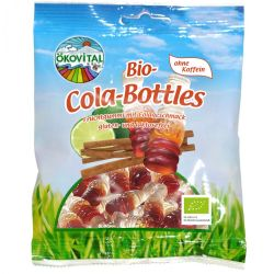 Jeleuri sticlute de Cola fara cofeina x 100g Okovital