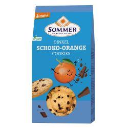 Biscuiti din spelta cu ciocolata si portocale x 150g Sommer & Co