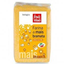 Faina bio de porumb Bramata (malai Bramata) fara gluten x500g Baule Volante