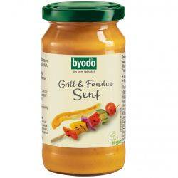 Mustar Gratar & Fondue fara gluten bio x 200ml Byodo
