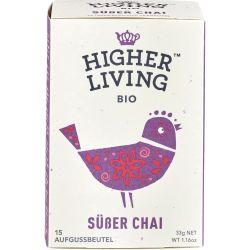 Ceai sweet Chai 15 plicuri bio x33g Higher Living