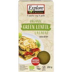 Lasagne din linte verde fara gluten bio x 250g Explore Cuisine