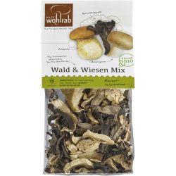Mix de ciuperci bio salbatice deshidratate x 30g Wohlrab