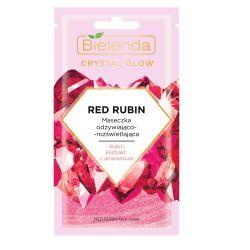 CRYSTAL GLOW RED RUBIN Masca de Fata Hidratanta si Iluminatoare x 8g