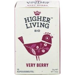 Ceai de fructe Very Berry 15 plicuri bio 33g x Higher Living
