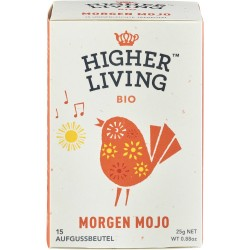 Ceai Morning Mojo 15 plicuri bio 25g x Higher Living
