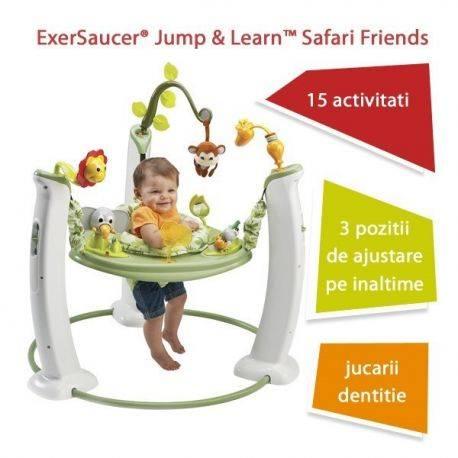 Evenflo Jump & Learn Safari Friends