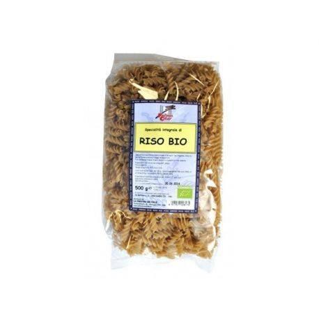 Paste bio Fusilli din orez integral x 500g