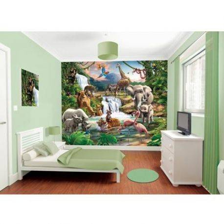 Walltastic - Tapet pentru copii Jungle Adventure